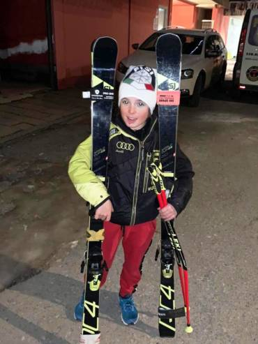 Filippo Maria Calzetti all'International Ski Games apre la stagione gare JAST