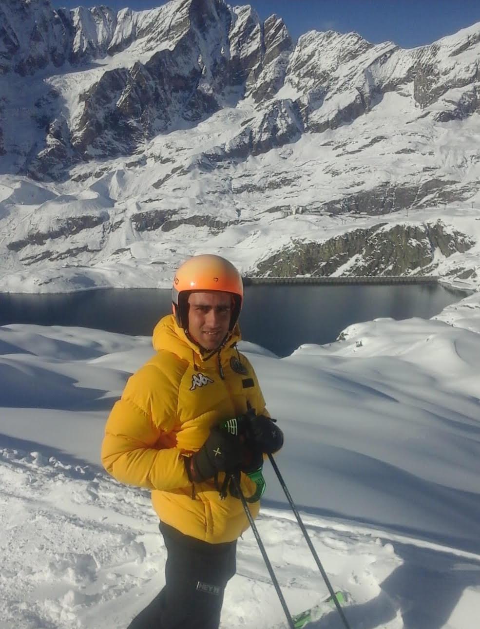 Il jastino Pierfrancesco Cococcioni diventerà Maestro di sci
