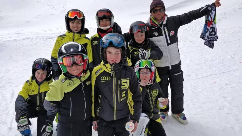 Campionati Regionali di sci alpino ad Ovindoli: il Sarnano JAST torna con 2 Campioni e 6 medaglie!
